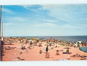 Unused Pre-1980 SCENE AT BEACH Rehoboth Beach Delaware DE M7005