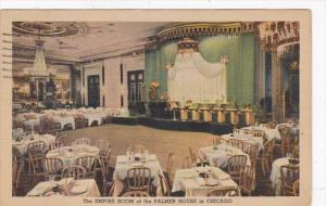 Illinois Chicago Palmer House The Empire Room 1951 Curteich