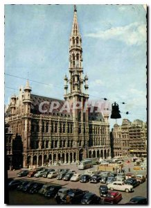 Old Postcard Brussels Grand Place Hotel de Ville