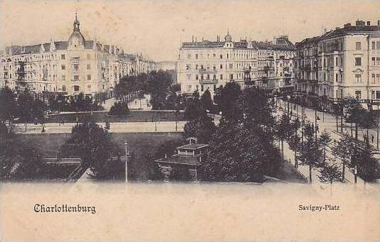 Germany Charlottenburg Savigny Platz