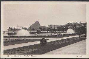 Brazil Postcard - Rio De Janeiro - Jardim Gloria     RT333