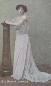 Mrs Patrick Campbell Antique Postcard