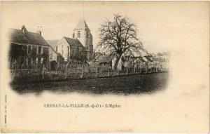CPA CERNAY-la-VILLE - L'Église (103082)