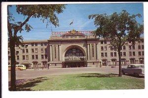 Canadian National Railway Train Station, Winnipeg, Manitoba,