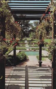 Hanging Gardens at High Park, near the Western Entrance to Toronto,  Ontario,...