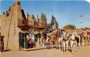 Knott's Berry Farm, Ghost Town, California, CA, USA Postcard The Stage S...
