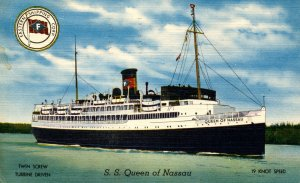 Eastern Shipping Corp. - SS Queen of Nassau