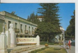 Postal 008448:  Monumento a Luisa Todi en Setubal, Portugal