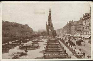 Edinburgh Princes Street looking west