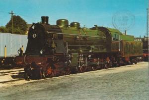 Schnellzug Lokomotive S 10 Osten 1135 German Train Postcard
