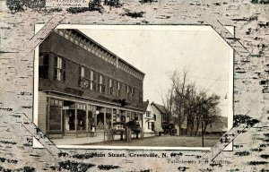 NH - Greenville. Main Street, 1907