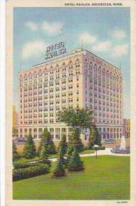 Minnesota Rochester Hotel Kahler Curteich