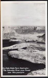 Washington Dry Falls State Park The Columbia River - RPPC