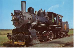 US    PC881  BALDWIN LOCOMOTIVE #31, STRASBURG, PA