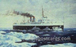 City Of Milwaukee, Manitowoc, Wisconsin, WI USA Steam Ship Postcard Post Card...