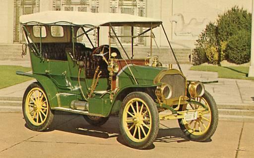 Antique Auto - 1909 Wilcox Touring