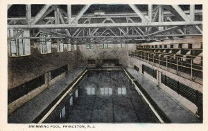 LPN04 Princeton New Jersey Postcard Swimming Pool