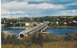 Longest Covered Bridge In The Bridge, Hartland, New Brunswick, Canada, 1940-1...