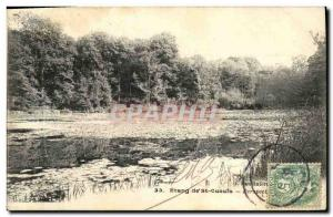 Postcard Old Pond St Cucufa Perspective