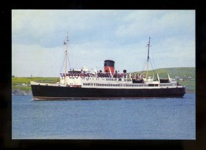 FE2880 - Isle of Man Ferry - Mona's Isle , built 1951 - postcard