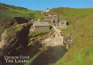 Cornwall Postcard, Church Cove, The Lizard by J. Salmon Ltd S44
