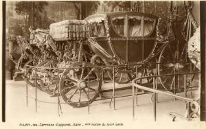 France - Paris, Cluny Museum, 18th Century Italian Pageantry Coach