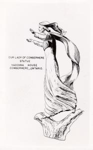 Combermere , Ontario , Canada , 50-60s ; Our Lady of Combermere Statue