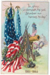 Patriotic - In Glory / Tuck's Decoration Day 107