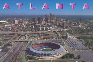 Atlanta Fulton County Stadium and Georgia Dome Atlanta Georgia