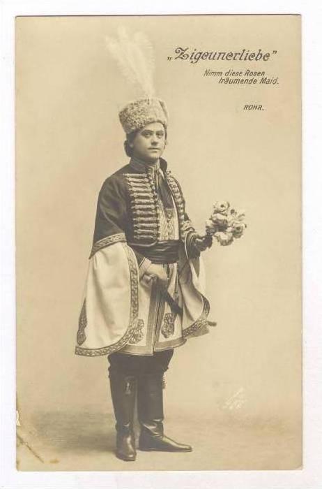 RP  Actor  Zigeunerliebe  Rohr., Wien, Austria, 00-10s, 00-10s