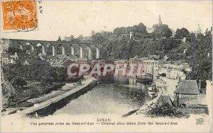 Postcard Old Dinan view Generale has taken Leaping Donkey