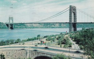 HUDSON RIVER, New York, 1940s-Present; George Washington Bridge
