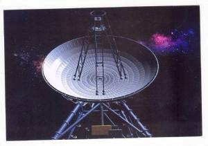 Space radio antenna, 1980-90s #12