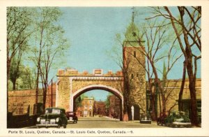Canada Quebec St Louis Gate