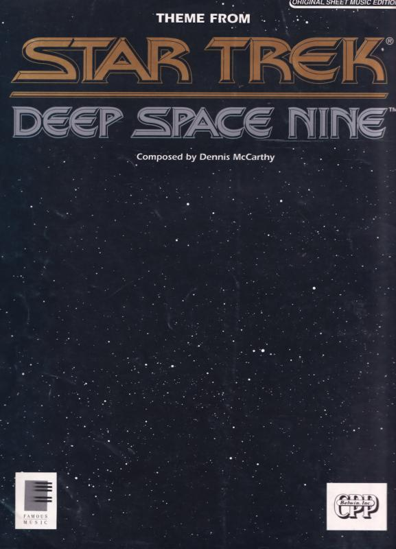Deep Space Nine Theme Star Trek XL Sheet Music