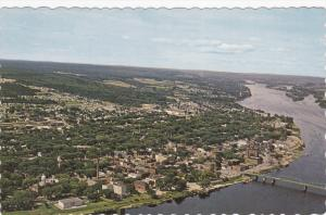 Aerial View, FREDERICTON, New Brunswick, Canada, 40-60's