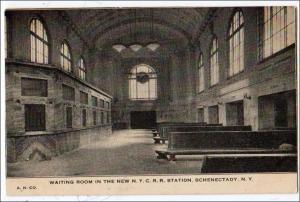 Waiting Room, NYC RR Station, Schenectady NY