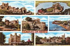 Castles of Kent, Rochester Castle Walmer Castle Dover Leeds Maidstone Deal