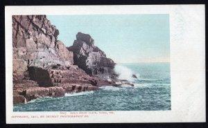 Maine YORK Bald Head Cliff 1901 Detroit Photographic Co. Und/B