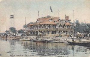 HAMILTON, Ontario, Canada, PU-1907; Royal Hamilton Yacht Club