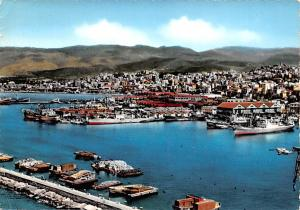Beyrouth, Lebanon Postcard, Carte Postale The City and the Harbor Beyrouth Th...