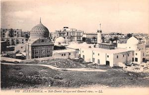 Alexandria Egypt, Egypte, Africa Sidi Daniel Mosque and General View Alexandr...