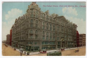 Chicago, The Palmer House, State and Monroe Sts.