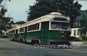 MBTA Trolleys Newton, Massachusetts, USA Newton, Massachusetts, USA MBTA Trol...