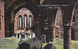St. German's Cathedral (Interior), Peel Castle, Isle Of Man, UK, 1910-1920s
