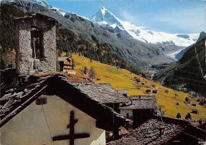 Switzerland Chapelle a la Forclaz, Val d'Herens La Dent Blanche