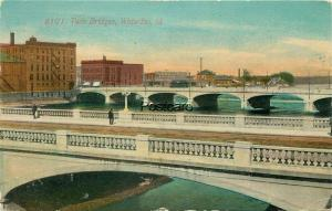 IA, Waterloo, Iowa, Twin Bridges, No. 6101