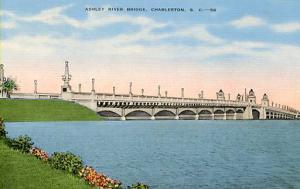 SC - Charleston. Ashley River Bridge
