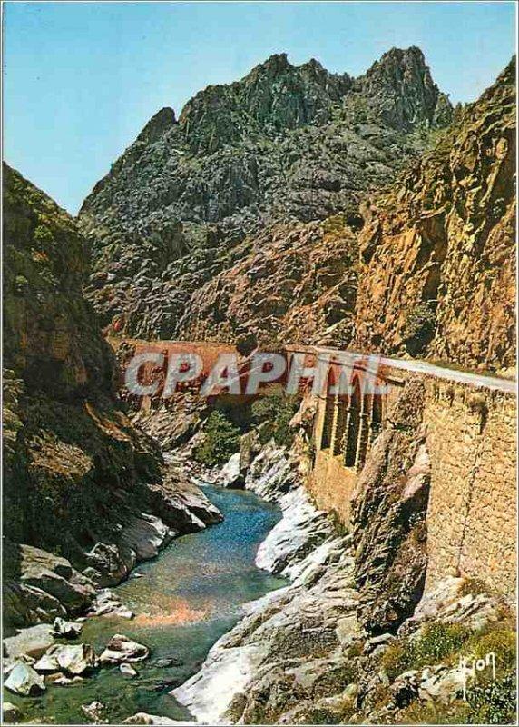 Modern Postcard Corsica Oasis de Beaute La Scala di Santa Regina