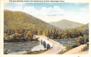 The Big Bridge over Deerfield River in Mohawk Trail, Massachusetts